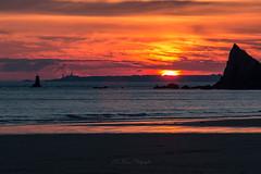 Sunset (khan.Nirrep.Photo) Tags: canon ciel crozon camaret couché bretagne breizh beach seascape sky sea sunset sable soleil finistère falaise canon70d canon70200f4