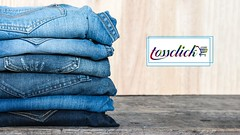 An Exclusive Collection Of Slim Fit/Regular/Damage/Wrinkle Jeans From Levi's/Diesel/Wrangler/Calvin Klein/Spyker/Burberry/Gas And All The Fashionable Brands.  www.tossclick.com (tossclick) Tags: jeans denim fashion fashionable clothing clothes chic elegance stylish trousers pants casual teen men woman unisex trend trendy modern new indigo apparel garment fabric blue classic background wear closeup blank canvas traditional texture cotton design color style detail pattern worn textured sewing textile material stack pile thailand