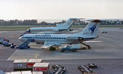Donavia - RA-65771 - Tupolev Tu-134A-3 (Athanasios Ozrefanidis) Tags: donavia tupolev lgat tu134
