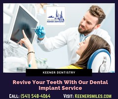 Revive Your Teeth With Our Dental Implant Service (info.keenersmiles) Tags: cosmetic dentist implants dentures
