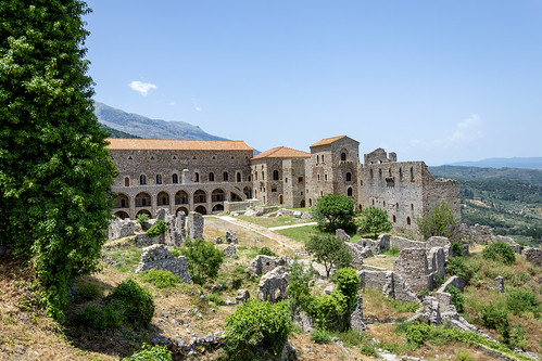 The Palace of Mystras - Laconia - Greece