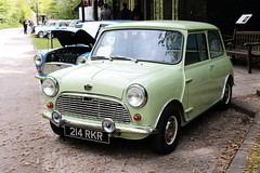 1961 Austin Mini 214RKR Amberley Museum Mini Day 2019 (davidseall) Tags: 1961 austin mini car 214rkr 214 rkr classic old shape style original great british amberley museum day 2019 west sussex uk