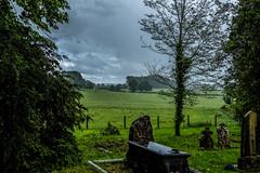 Rain (Peter Leigh50) Tags: leicestershire landscape landschaft wistow weather newton harcourt fujifilm fuji field farmland trees grass xt2 rain wet cloud dark grave graveyard