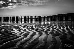 sunset-3687 (sir_edward) Tags: sunset sea landscape seascape blackandwhite blackwhite strand vlissingen nederland fujifilm fujinon