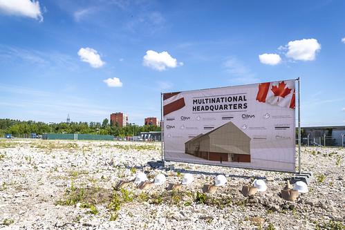 Kanādas bruņotie spēki uzsāk jaunas štāba ēkas būvniecību Latvijā
