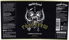 England - Camerons Brewery / Lion Brewery (Hartlepool) (cigpack.at) Tags: cameronsbrewery lionbrewery england hartlepool röadcrew americanpaleale motörhead bier beer brauerei brewery label etikett bierflasche bieretikett flaschenetikett