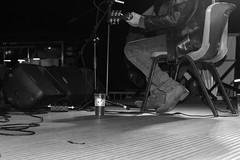 A musician and his beer. (l'obiettivo) Tags: foto fotografia fotoinbiancoenero biancoenero monocromo fotomusica fotoconcerti como como2016 lagodicomo lombardia italia photo photography blackandwhite blackandwhitephoto blackandwhitephotography bnwphoto bnwphotography monochrome livemusicphoto livemusicphotography concertphotography concertphoto lakeofcomo lombardy italy canon canon1300d