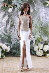 Elegant & sophisticated fashions from Summer 2019 collection by ELENPRIV (elenpriv) Tags: seduisanteelyseelisejolie 12inch fashionroyalty jasonwu integrity toys doll fr2 fashion elenpriv fashions elena peredreeva handmade clothes dollclothes purity collection summer