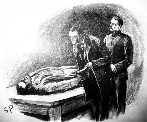 Sherlock Holmes - Sidney Paget Book Illustration 6193A