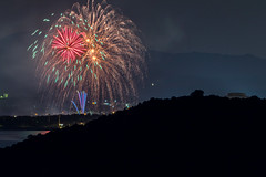 阿知須浦まつり花火大会 2019 #2ーFireworks Ajisu town, Yamaguchi city 2019 #2 (kurumaebi) Tags: yamaguchi 阿知須 山口市 nikon d750 夜 night 花火 fireworks sea 夜景