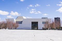 Aga Khan Museum (Rackelh) Tags: building architecture museum sky spring lowangle toronto ontario canada