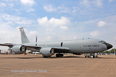 BOEING KC135R 61-0321 USAF 100th ARW 2 (shanairpic) Tags: military tanker kc135 boeingkc135 stratotanker usaf