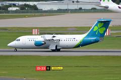 EI-RJD Aer Lingus Avro RJ85 EGBB 25/5/19 (David K- IOM Pics) Tags: egbb bhx birmingham elmdon airport ein bcy aer lingus cityjet shamrock avro rj rj85 british aerospace bae ei eirjd