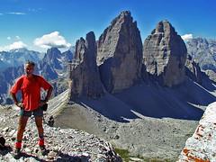 "Monte Paterno / Paternkofel ""hero shot"" (Vid Pogacnik) Tags: italy mountain landscape outdoors italia hiking dolomites dolomiti dreizinnen paternkofel montepaterno panorama summit trecimedilavaredo"