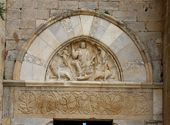 The early Medieval cathedral of Maguelone, Montpellier, france (kitmasterbloke) Tags: cathedral maguelone montpelier france catholic church romanesque medieval pope papal pontiff