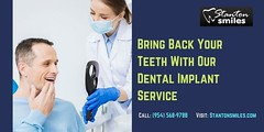 Bring Back Your Teeth With Our Dental Implant Service (Dentalservice) Tags: family dentist dental crowns implants