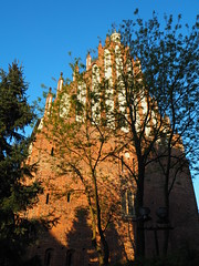 Church of Saint Mary the Virgin in Summo III (kachigarasu PL (busy)) Tags: architecture church poland ポーランド ポズナン 教会 ostrowtumski オストルフ・トゥムスキ poznań ostrówtumski gothic ゴシック ゴチック polska greaterpoland wielkopolska ヴィエルコポルスカ afternoon takenbywr olympusem10 olympusm1442mmf3556ez 見上げる poznancathedral カトリック教会 ostrówtumskipoznań ostrówtumskipoznan shadow 影 churchofsaintmarythevirgininsummo kościółnajświętszejmaryipannyinsummo