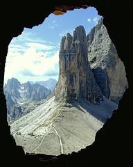 Cima Piccola / Kleine Zinne (Vid Pogacnik) Tags: italy mountain landscape outdoors italia hiking worldwari cavern dolomites dolomiti kleinezinne cimapiccola