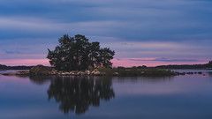 Private island (Baho77) Tags: sony suomi sunset cloud longexposure nauvo parainen turku finland batis zeiss sea water island tree trees rocks rock lee leefilter filter nd ndfilter nature travel reflection