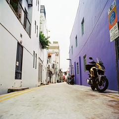 Lower angle view (Thanathip Moolvong) Tags: bronica s2 kodak ektar 100 film street