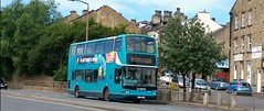Brighouse (Andrew Stopford) Tags: lj51dlv daf db250 plaxton president arriva brighouse