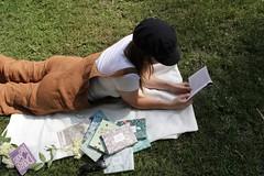 aL6pts%PQ9mM1hUqfpr5ng_thumb_3d51 (novellix juliaahl) Tags: linn läser sommar park grönt