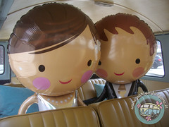 Mr&Mrs Ballons (partyinfurgone) Tags: addiocelibato addionubilato affitto epoca furgone hippie limousine matrimonio milano noleggio nozze photobooth pulmino sposi storico t1 vintage volkswagen vw wedding