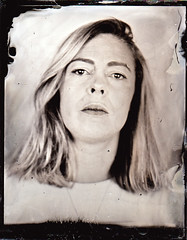 Amy (fitzhughfella) Tags: wetplate tintype tinplate collodion silvernitrate ether largeformat 4x5 darkroom graflexspeedgraphic kodakaeroektar vintage