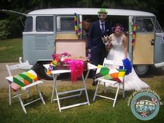 Sposi buffi! (partyinfurgone) Tags: addiocelibato addionubilato affitto epoca furgone hippie limousine matrimonio milano noleggio nozze photobooth pulmino sposi storico t1 vintage volkswagen vw wedding
