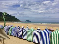 Gaurko eguraldia Zarauzko hondartzan (eitb.eus) Tags: eitbcom 5963 g146840 tiemponaturaleza tiempon2019 playa gipuzkoa zarautz lorentxoportularrumeazcue