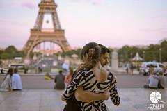 La tour Eiffel (Lotus Mi) Tags: dancing park love orange blue light sunset sky people tower effel paris france xf35mmf14r fuji fujifilm travel trip journey