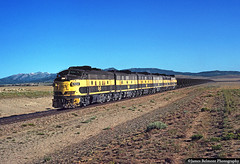 Big Wonderful Wyoming (jamesbelmont) Tags: unitedstatessteel atlanticcity wyoming emd f7 ironore windrivermountains train railroad railway locomotive
