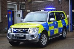 BX65 DVC (S11 AUN) Tags: london metropolitan police mitsubishi shogun anpr traffic car roads policing unit rpu 999 emergency vehicle metpolice bx65dvc