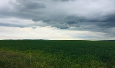 Spring Storm Clouds (Mr. Happy Face - Peace :)) Tags: sky cloud sun stormy weather art2019 farmland cropland alberta canada