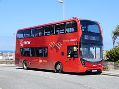 First Kernow 33458 - WK66 CCV (Berkshire Bus Pics) Tags: first kernow 33458 wk66ccv alexander dennis enviro 400 mmc st ives cornwall south west