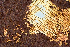 peeling (primemundo) Tags: rust rusty paintchips chips oxidation