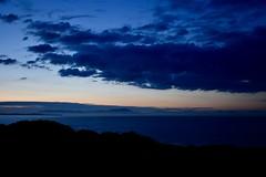 Sea Sunset (conmoh) Tags: sky sea cooleymountains clouds sunset water ireland seamist fog sun evening mist clogherhead dundalk coast coastline