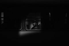 Pasajeros (natan_salinas) Tags: valparaíso valpo streetphotography fotografíaurbana fotografíacallejera bw blackwhite blanconegro bn blancoynegro blackandwhite monocromático monochrome nikon gente d5100 urbe urban city ciudad portrait retrato urbano noiretblanc pasajeros passengers street calle 50mm people luz light shadow sombras chile ventana streetportrait retratocallejero retratourbano