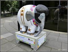No.36 Elphis (Alan B Thompson) Tags: 2019 june sculpture charity elephant art lumix fz82 picassa