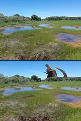 Maine with and without Godzilla (Marks Meadow) Tags: maine coastalmaine midcoastmaine godzilla popham