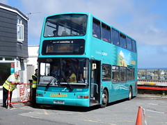 First Kernow 33233 - HIG 1528 (Berkshire Bus Pics) Tags: first kernow 33233 hig1528 dennis trident plaxton president st ives cornwall south west