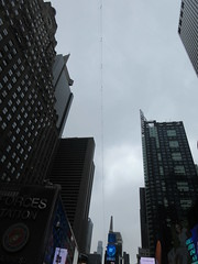 2019 Wallenda Tightrope Line above Times Square 1931 (Brechtbug) Tags: tightrope line above times square that wallenda guy will walk sunday june 23rd 2019 nyc 06192019