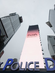 2019 Wallenda Tightrope Line above Times Square 1926 (Brechtbug) Tags: tightrope line above times square that wallenda guy will walk sunday june 23rd 2019 nyc 06192019