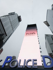 2019 Wallenda Tightrope Line above Times Square 1925 (Brechtbug) Tags: tightrope line above times square that wallenda guy will walk sunday june 23rd 2019 nyc 06192019