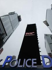 2019 Wallenda Tightrope Line above Times Square 1924 (Brechtbug) Tags: tightrope line above times square that wallenda guy will walk sunday june 23rd 2019 nyc 06192019