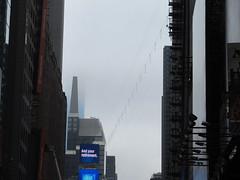2019 Wallenda Tightrope Line above Times Square 1914 (Brechtbug) Tags: tightrope line above times square that wallenda guy will walk sunday june 23rd 2019 nyc 06192019