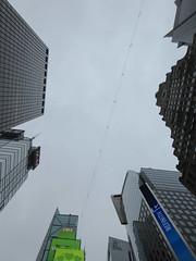 2019 Wallenda Tightrope Line above Times Square 1933 (Brechtbug) Tags: tightrope line above times square that wallenda guy will walk sunday june 23rd 2019 nyc 06192019