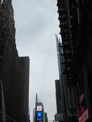2019 Wallenda Tightrope Line above Times Square 1922 (Brechtbug) Tags: tightrope line above times square that wallenda guy will walk sunday june 23rd 2019 nyc 06192019