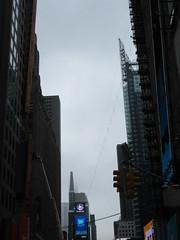 2019 Wallenda Tightrope Line above Times Square 1917 (Brechtbug) Tags: tightrope line above times square that wallenda guy will walk sunday june 23rd 2019 nyc 06192019