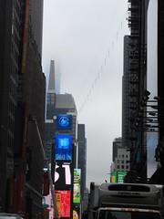 2019 Wallenda Tightrope Line above Times Square 1910 (Brechtbug) Tags: tightrope line above times square that wallenda guy will walk sunday june 23rd 2019 nyc 06192019